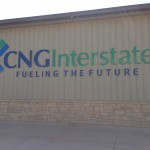 custom sign by granite signs of oklahoma city for cng interstate