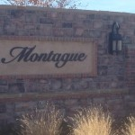Custom sign for Montague
