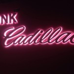 Custom neon sign for Pink Cadillac in downtown oklahoma city