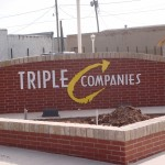 triple companies custom sign